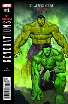 Generations: Banner Hulk & The Totally Awesome Hulk - Marvel Comics Hq Marvel, Marvel Heroes, Marvel Comics, Hawkeye Marvel, Anime Comics, Hulk 1, Hulk Comic, Comic Book Covers, Comic Books Art