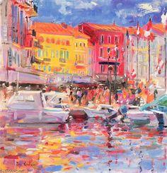 'Le Port De St Tropez' by Peter Graham Ii