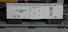 Lionel postwar # 6472 Refrigerator car.
