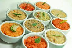 A linha de patês solúveis, disponível em 10 sabores, foi lançada pela empresa vegana Quebra-Cabeça (fabricante do Mandiokejo).