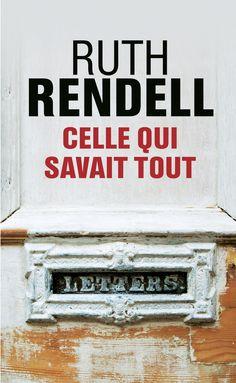 Celle qui savait tout - Ruth Rendell - 400 pages, Couverture souple. -  Référence : 903320 #Livre #Lecture #Suspense #Policier #Thriller #Cadeau