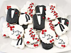Love the design of these cookies!