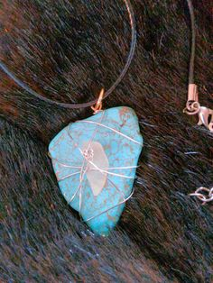 Check out this item in my Etsy shop https://www.etsy.com/listing/514207018/turquoise-sea-glass-pendant