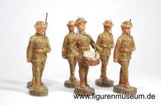 Infanterie Großbritannien - Hausser 5,5 - 6 cm Serie Hausser Elastolin