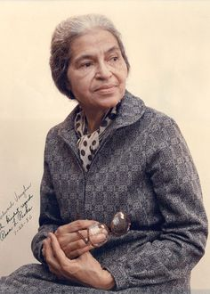 67. Rosa Parks (The Original Chic) Please name me one other person in the history of time who can rock an updo like Ms. Rosa Parks? That's...