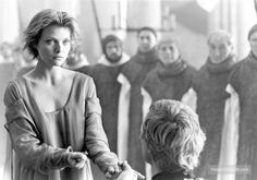 Ladyhawke-- I've always loved this whole scene in Ladyhawke and always wanted her hair!