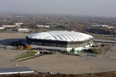 On a second implosion attempt, the Pontiac Silverdome finally goes down