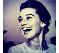 Audrey loved to laugh, and she loved people who could make her laugh.