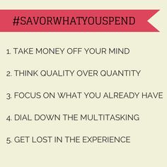 5 Strategies That Can Make You Happy About Saving #savorwhatyouspend