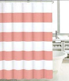 beige striped shower curtain. Max Studio 100  Cotton Shower Curtain Wide Stripes Fabric Turquoise Navy Blue Beige Tahari Orange Green Taupe White France Paris