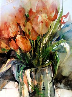 Elke Memmler #watercolor jd