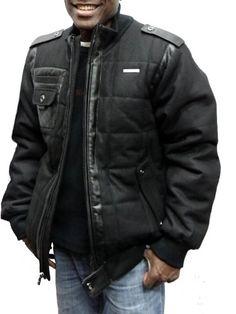 Rocawear Puffered Wool Jacket