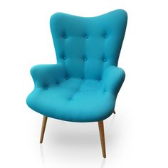 Fotel Angels Wings Blue New Design la bambetle Design Azul, Design Bleu, Winged Armchair, Cosy Sofa, Blue Pottery, 3d Warehouse, Kare Design, Sit Back And Relax, Occasional Chairs