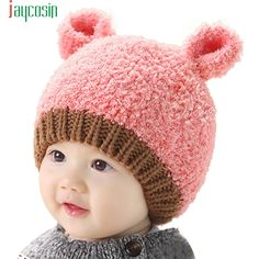 >> Click to Buy << 2016 new Baby Boy Girl  Infant Winter Earflap Knitted Warm Cap Hat Jan13 #Affiliate