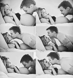 #kiss #couple #love #black & white #baby