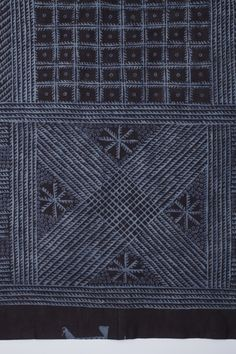 Adire Eleko Cloth | LACMA Collections Africa, Nigeria, Yoruba, 20th century Costumes Cotton plain weave, paste-resist dyeing 80 1/2 × 71 in. (204.47 × 180.34 cm)