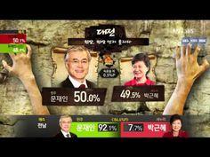 SBS 2012 국민의 선택(대선) 中 대선! 정글의 법칙(출구조사 결과)