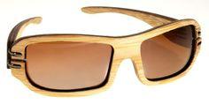 Gafas de sol en madera, filtro UV, marca Maguaco S004. Maderas: Guadua y Macana. $180.000 COP
