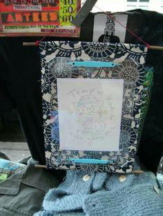 Manga Art by Mika of me drawn on the spot in Billysburg,Brooklyn