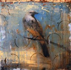a very small bird ~ mixed media ~ by matt flint