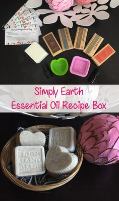 I just made my own soap with the Simply Earth Essential Oil Recipe Box!! #essentialoils #diy #soap #beauty #eorecipe #simplyearth