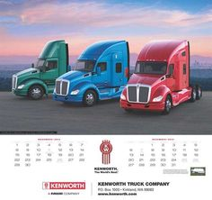 2015 Kenworth Calendar Features Captivating Images of The World's Best Trucks