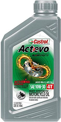 Castrol 06119 Actevo 10W-30 Part Synthetic 4T Motorcycle Oil - 1 Quart Bottle, (Pack of 6) - http://www.caraccessoriesonlinemarket.com/castrol-06119-actevo-10w-30-part-synthetic-4t-motorcycle-oil-1-quart-bottle-pack-of-6/  #06119, #10W30, #Actevo, #Bottle, #Castrol, #Motorcycle, #Pack, #Part, #Quart, #Synthetic #Motorcycle, #Parts