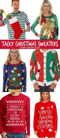 Ugly christmas sweater ugly sweater and ugly sweater party