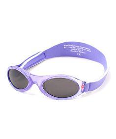 631f2c9255 Baby Banz Lavender Tulip Full-Band Sunglasses