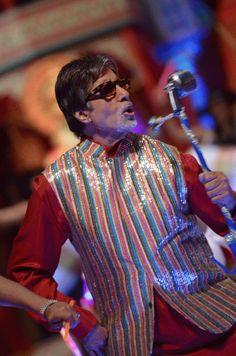 """Amitabh Bachchan in """"Bol Bachchan"""", courtesy of Amitabh Bachchan"""