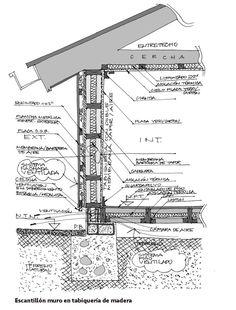Galería de 17 Escantillones de Sistemas Constructivos que te ayudarán a materializar tus proyectos - 14