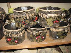 Květináče | Keramika Miroslava Bílková Pottery Pots, Ceramics Projects, Ceramic Art, Interior Design Living Room, Terracotta, Garden Design, Clay, Tableware, Decor Ideas