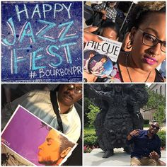 So loving my new city #neworleans #nola #festival season is popping the best food music and #culture. If ever in town check for me #hiecue #hiecueart #weouthere #neworleansjazzfest #neworleansjazzfestival #art #frenchquarter #canalstreet #bourbonstreet #prince #purple #jazz #jazzmusic #louisarmstrong #milesdavis #maxwell #steelydan #jonellemonae #bigfun in the #bigeasy by hiecue