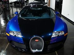 2006 Bugatti Veyron 16.4  1001 Hp 2,5 sek 0-60 mph 253 mph max speed $1,260,000 price as new W-16 engine with 4 turbochargers, the fastest production car of all times