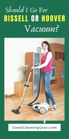 Should I Go For Bissell or Hoover Vacuum? Both Bissell and Hoover are renowned names in the cleaning world and they have an array of vacuums to choose from. This guide will help you to figure out whether Bissell or Hoover vacuums are better. Best Upright Vacuum Cleaner, Best Vacuum, Self Stick Vinyl Tile, Stick On Tiles, Ceramic Floor Tiles, Tile Floor, Best Mop For Tile, Hardwood Floor Care, Pug