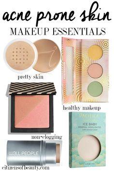 Best makeup essentials for acne prone skin