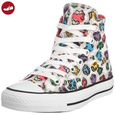 ea1985a6c483e4 Converse Women Chuck Taylor All Star Hi Animal Grey Damen Sneaker grau  514090 (US 10