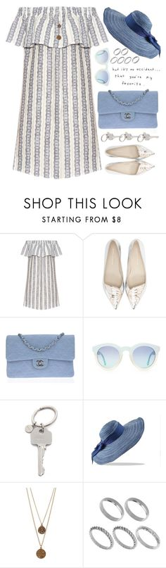 """Untitled #1339"" by chantellehofland ❤ liked on Polyvore featuring Sea, New York, Sophia Webster, Chanel, Paul Smith, Bee Charming and ASOS"