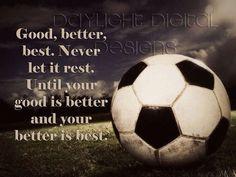 Soccer motivation
