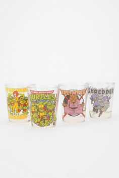 Turtley Awesome Shot Glass - Set Of 4
