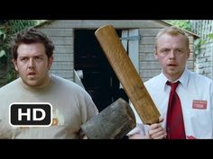 Shaun of the Dead... so remember... you have to remove your head or destroy your brain... i mean remove the zombie's... never mind
