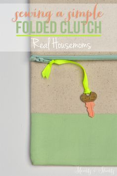 Sewing a Simple Fold