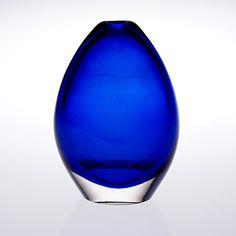 TIMO SARPANEVA - Art glass sculpture 3501 for Iittala late 1950's, Finland. [h. 16 cm]
