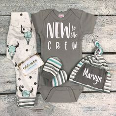 Baby boy coming home outfit/take home set/gray and white set/ organic cotto Baby Boys, Kids Boys, Baby Boy Shower, Baby Shower Gifts, Bringing Baby Home, Cute Baby Clothes, Handmade Baby Clothes, Coming Home Outfit, Baby On The Way