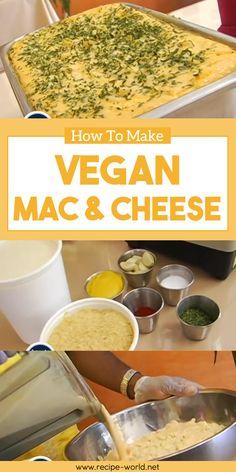 How To Make Vegan Mac And Cheese♨http://recipe-world.net/how-to-make-vegan-mac-and-cheese/?i=p