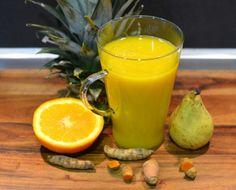 Detox - Turmeric, Pear, Pineapple And Orange