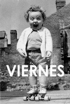Buenos días! Por fin es viernes y ya estamos planeando todo lo que haremos el fin de semana! ¿Vosotros?