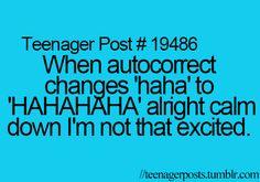 HAHAAHAHA! <<< darn it!