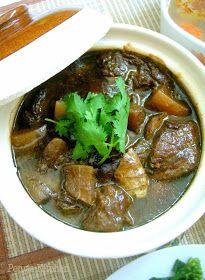 Peng's Kitchen: 柱侯萝卜焖牛腩 Braised Beef Brisket with Daikon