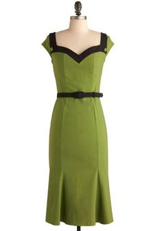 Grass Hopper Pie Dress Mod Cloth